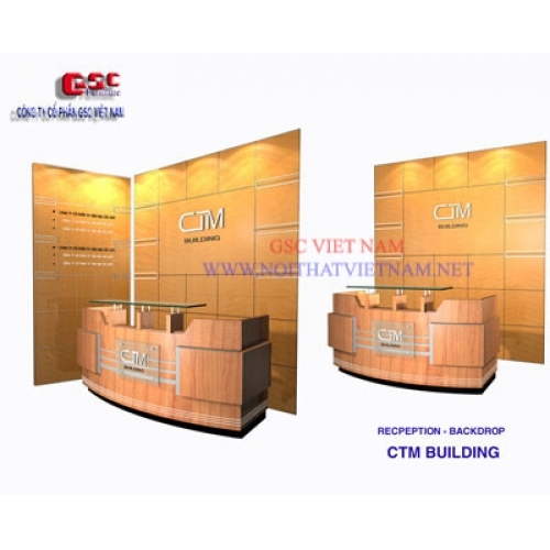BACK DROP ỐP GỖ GSC-BD10