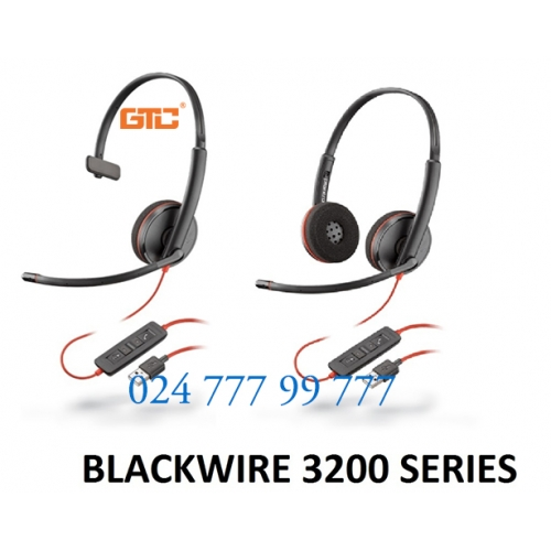 Tai nghe  Plantronics Blackwire C3200 Series
