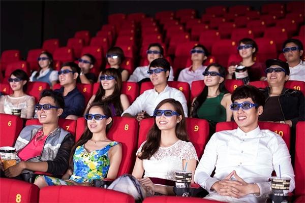 bí quyết chọn được chỗ ngồi ưng ý nhất khi xem phim